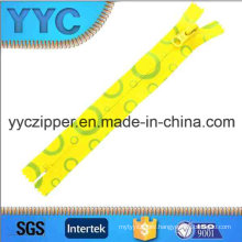 5# C/E Nylon Zipper Printed Decorative Zipper