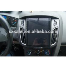 Android 10.4 '' 1din Car DVD Player multimídia GPS para Ford Focus 2012 2013 2014 Vertical tela de toque completo OEM Wifi 3G função