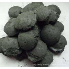 Briqueta de silicona de alto contenido de carbono