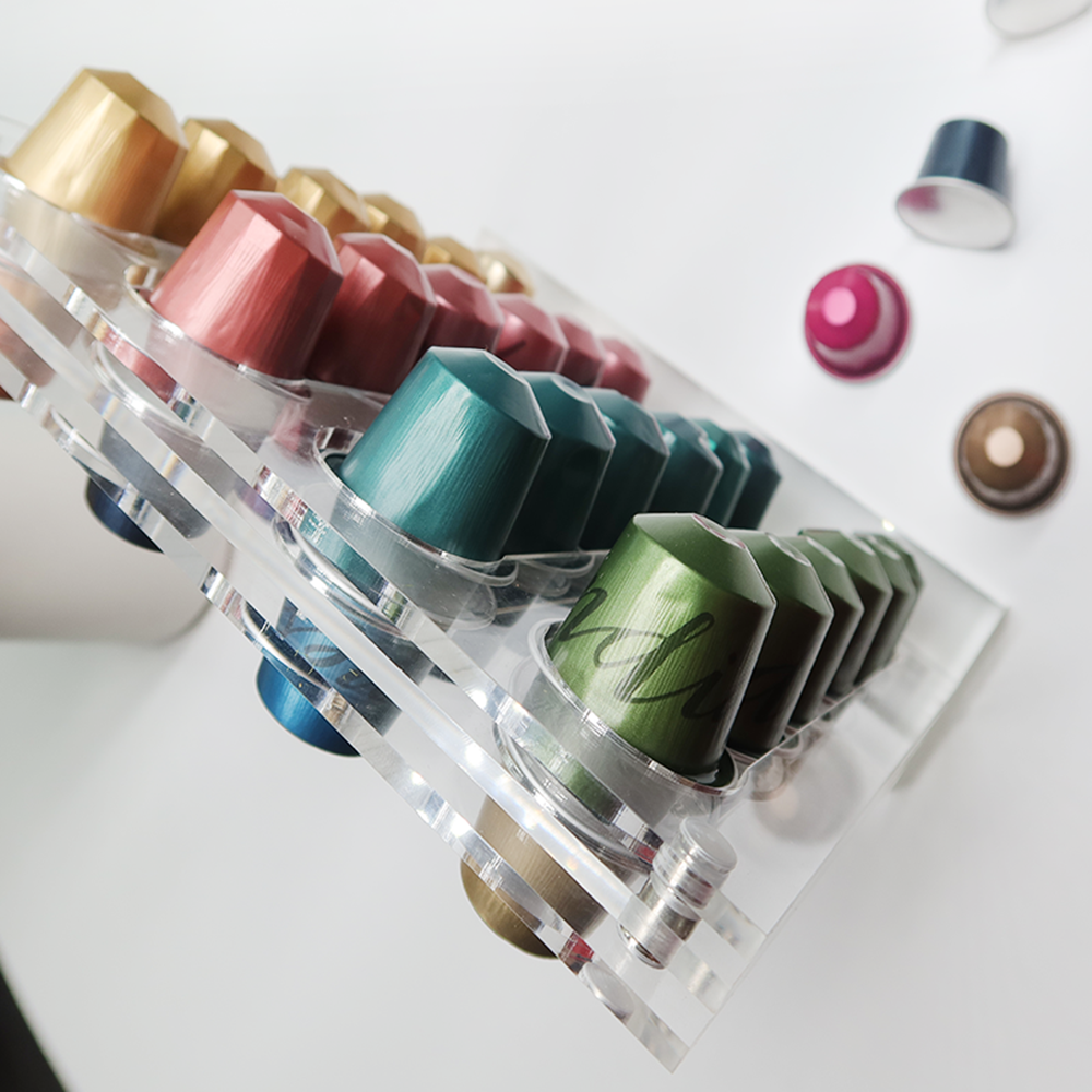 48 Capacity Acrylic Coffee Pod Holder