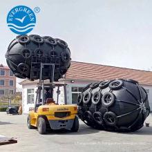 Amortisseur pneumatique en caoutchouc 3.3x6.5m pour le transfert de bateau à bateau