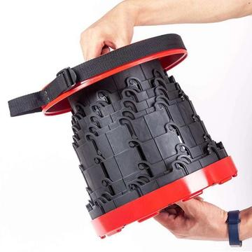 Leichter zusammenklappbarer Picnic Travel Klapphocker aus Kunststoff
