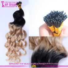 Beleza 100% remy onda brasileira de alta qualidade mais barata que dar uma dica a extensão do cabelo ombre
