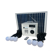 30w Portable green Solar Light Kit