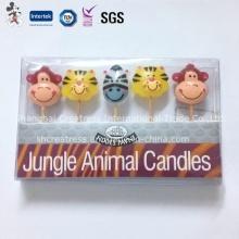 Vela de cumpleaños favorita de niños con forma de animal