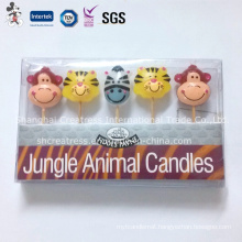 Children Favourite Animal Shape Birthday Candle
