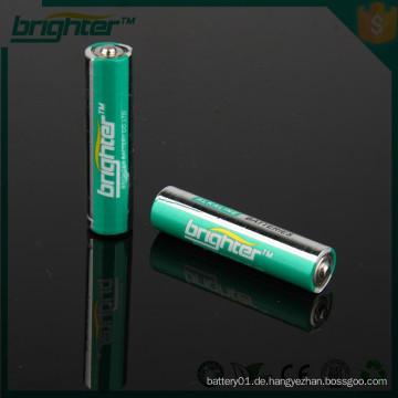 Aaa alkalische Batttery 1.5v trockene Batterien aus China Großhandel