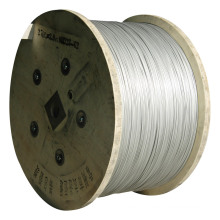 Galvanized Steel Wire Packed in Wooden Drum
