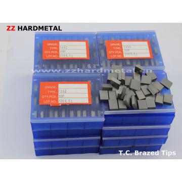 Tungsten Carbide Brazed Turning Inserts A20 K20