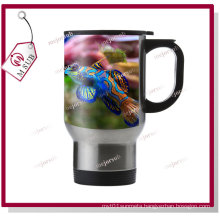 14oz Silver Stainless Steel-Full Mugs to Sublimate