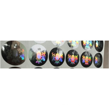 Manufacture Security Pet Hologram Sticker, Anti-Counterfeit and Anti-Fake Laser