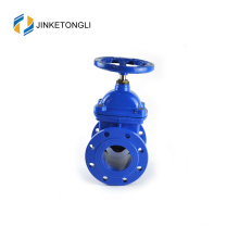 JKTLQB015 hdpe pipe ductile iron lever gate valve