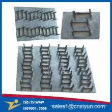 Menuisier en acier galvanisé en métal en métal pour la construction