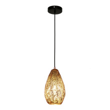 Mini Pendant Light Indoor Glass Shade Hanging Lamp