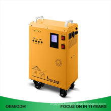 Portable Plastic Case Solar House Generator Power System