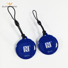 30 mm PVC-RFID-tags met epoxy