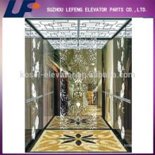 320kg-800kg Machine Room Less traction machine passenger lifts/complete passenger elevators