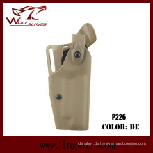 Militärische Ausrüstung Safriland 6320 taktische Pistole Holster für P226