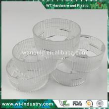 Fabricante do molde de injeção para partes transparentes fabricante plástico do molde da parte