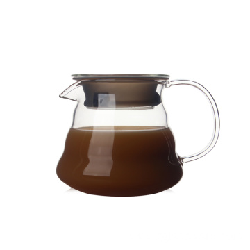 New Delivery for Stainless Steel Lid Glass Carafe Hot Selling Coffee Carafe With Airtight Lid supply to Saint Vincent and the Grenadines Factory