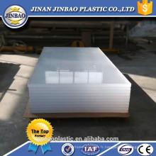 feuille acrylique de haute qualité de vente d'usine pour le panneau de basket-ball