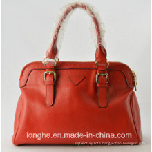 High Quality Taste Leather Women Shoulder Handbag (ZX10004)