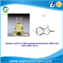 Sal de sódio de 2-mercaptobenzotiazol, CAS 2492-26-4, MBT-Na para inibidor de corrosão