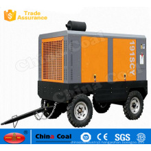 Protable Diesel Driven Screw Air Compressors
