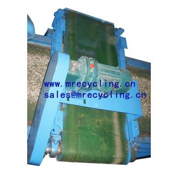 Separador magnético para granulador de fio