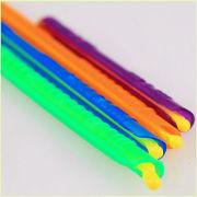 Plastic rod clip plastic food storage clip Coffee Bag Clip plastic bag closure clip