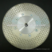 Sierra circular de corte doble diamante
