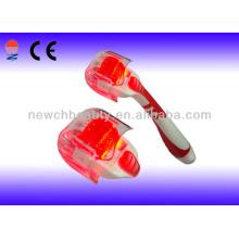 Red Photon Elétrico Derma Roller Skin Roller Beauty Massager Equipamento portátil de beleza com CE
