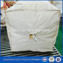 Wholesale high quality bulk bag PP big bag/FIBC bag/ super sack 1 ton/ top open, bottom discharg 100% new virgin resin Zhongrun