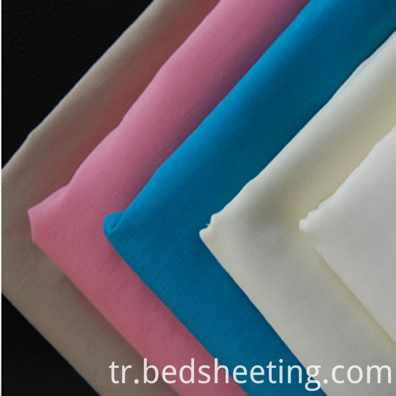 Solid Dyed Cvc 5050 150t Fabric