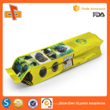 OEM Chinese custom printing side gusset VMPET tea packaging bags