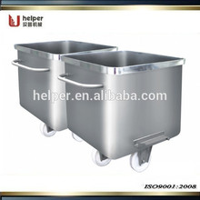 Chariot à viande en acier inoxydable 200L