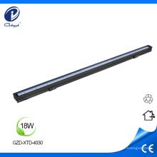 Barra de luz led rígida para exteriores de 18W de alto brillo