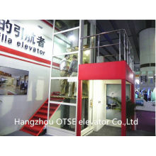 Energy save traction type outdoor elevator
