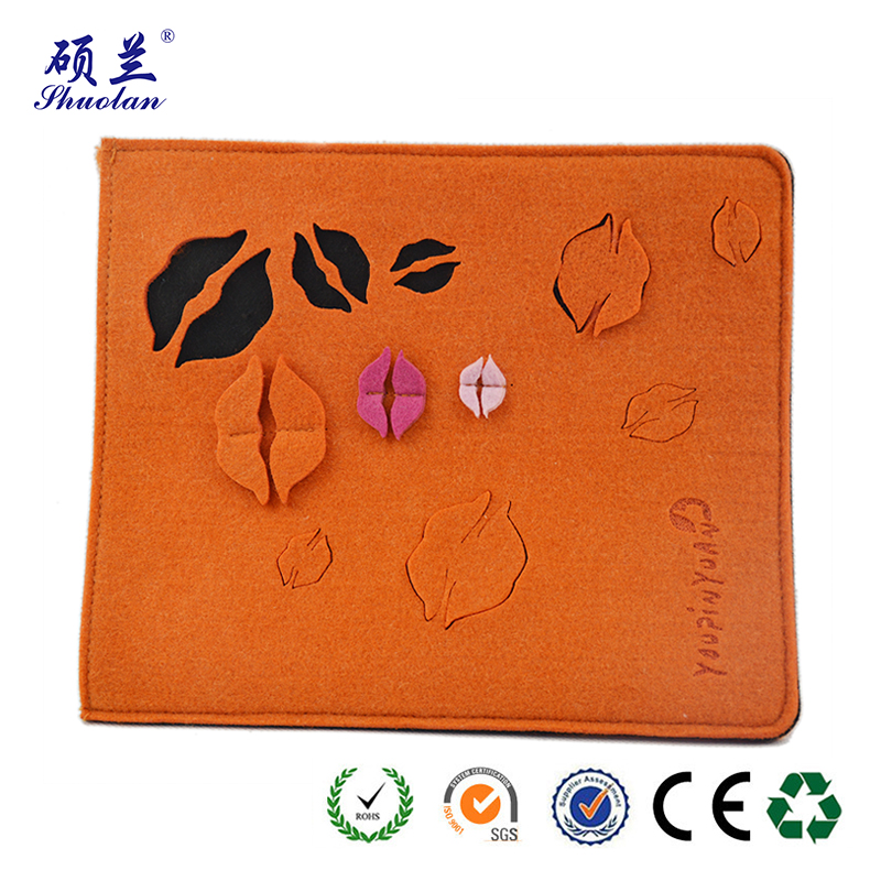 Orange Ipad Bag