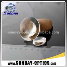 Lentes ópticas de Biconvex BK7 do comprimento focal 75mm do diâmetro 25.4mm