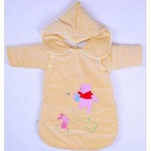 Saco de dormir de algodão do bebê