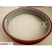 Endless PU Timing Belt 39t10-600+5.5 Rubber