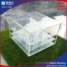 Custom Made Good Price Whosale Acrylic Rose Flower Box Design