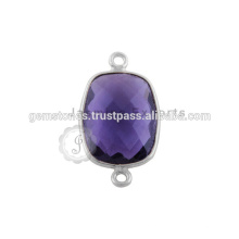 925 Sterling Silver Gemstone Jewelry Sterling Silver Bezel Conector Sterling Silver Jump Rings