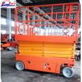 6-12м Электрический самоходный Ножничный подъемник/подъемная платформа для высотных работ