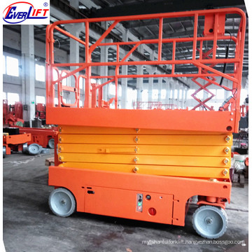 6-12m Electric Self Propelled Scissor Lift/Lifting Platform For Aerial Work