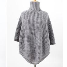 Женская грелки шеи шарф свитер кардиган палантины зимние вязаные шали пончо (SP607)
