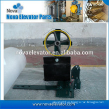 Dispositivo de tensión de elevación para dispositivo de seguridad