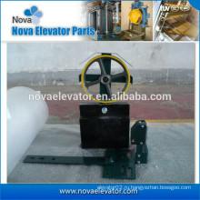 Устройство натяжения подъёмника для предохранительного устройства