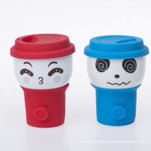 milk cup ceramic  glaze mug with design  fine bone china